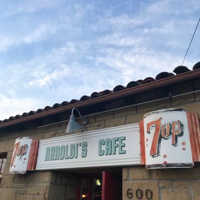 Arnoldi's Cafe, Santa Barbara, CA