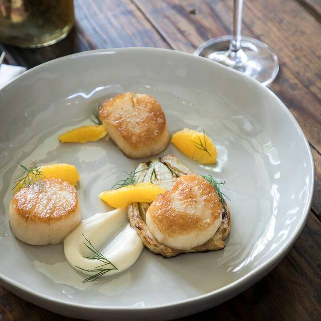 Sea scallops - Cannon Green, Charleston, SC