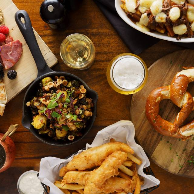 Jasper's Dinner - Jasper's Corner Tap and Kitchen, San Francisco, CA