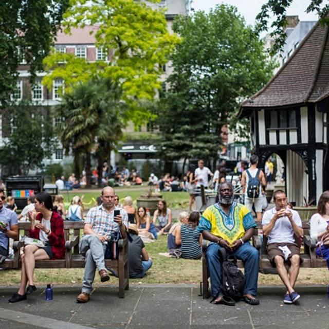 Free Soho Square Picnic Patches, London