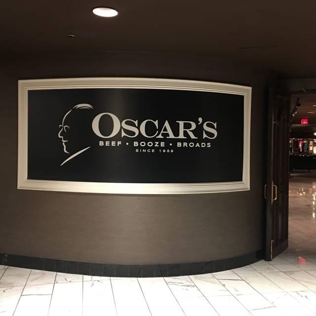 Oscar's Steakhouse at the Plaza Hotel & Casino, Las Vegas, NV