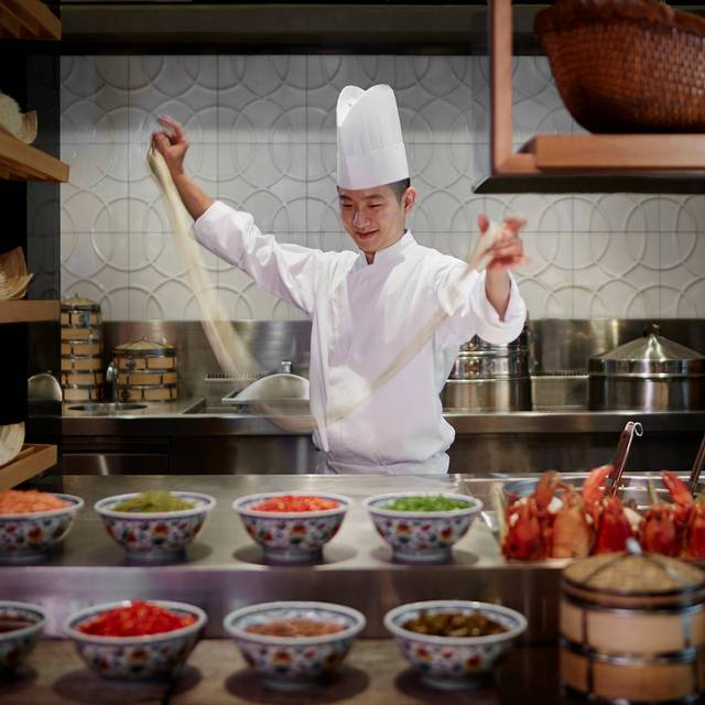 Chef Noodle Pulling - Colony - The Ritz-Carlton, Millenia Singapore, Singapore, Singapore