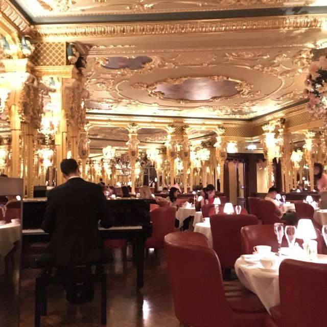 Afternoon tea at Hotel Café Royal, London