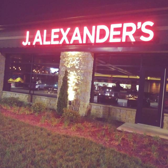 J. Alexander's - Raleigh Restaurant - Raleigh, NC | OpenTable