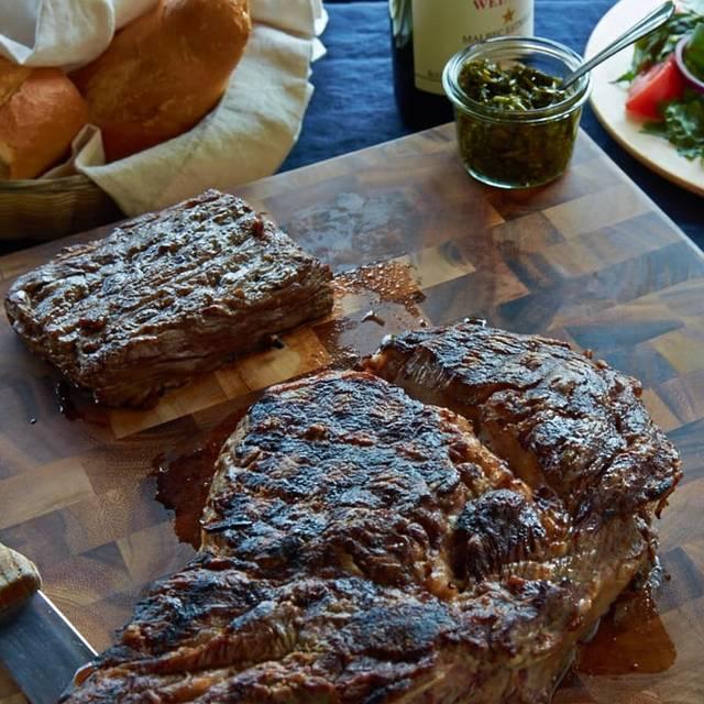 Bone In Rib Eye - Carlitos Gardel Argentine Steakhouse, Los Angeles, CA