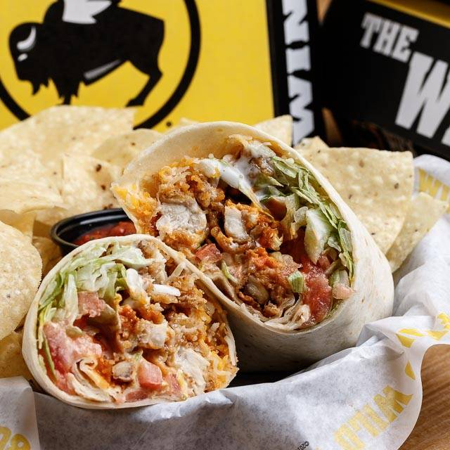 Buffalo Ranch Chicken Wrap - Buffalo Wild Wings - Shreveport, Shreveport, LA