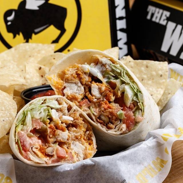 Buffalo Ranch Chicken Wrap - Buffalo Wild Wings - Ann Arbor - State Street, Ann Arbor, MI