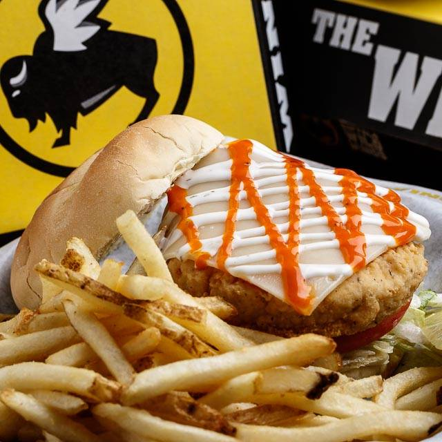Buffalo Ranch Chicken Sandwich - Buffalo Wild Wings - Ann Arbor - State Street, Ann Arbor, MI