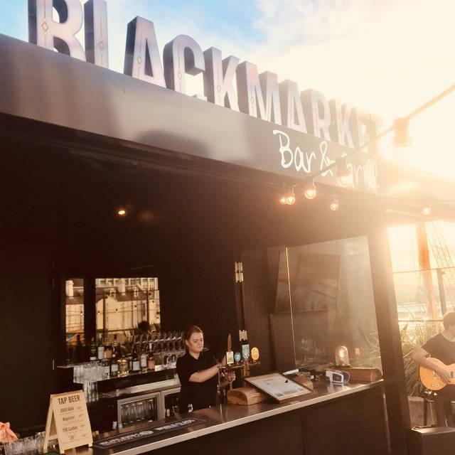 Roof Top Bar - Blackmarket Bar & Grill - Brisbane CBD, Brisbane, AU-QLD