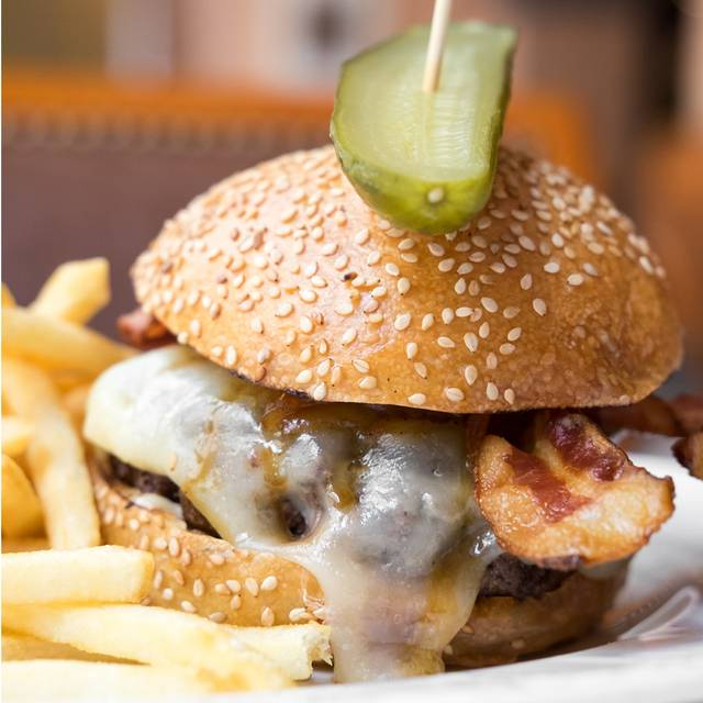 Burger - Café Centro, New York, NY