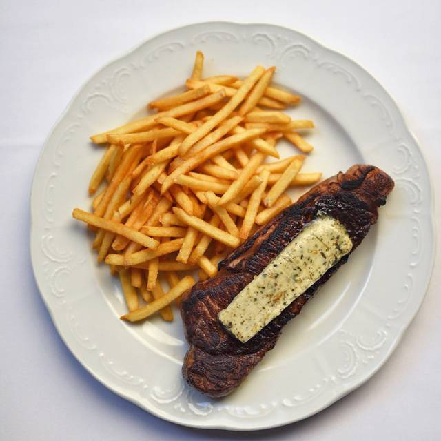 Steak frites - Café Centro, New York, NY