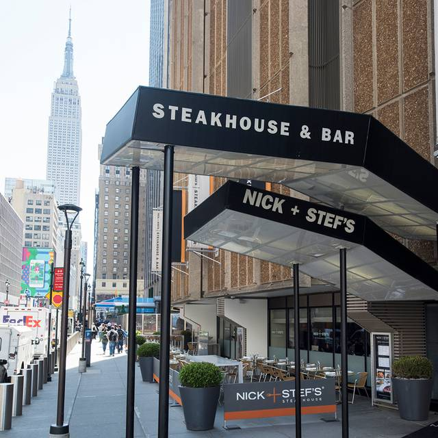 Patio - Nick & Stef's Steakhouse - New York, New York, NY