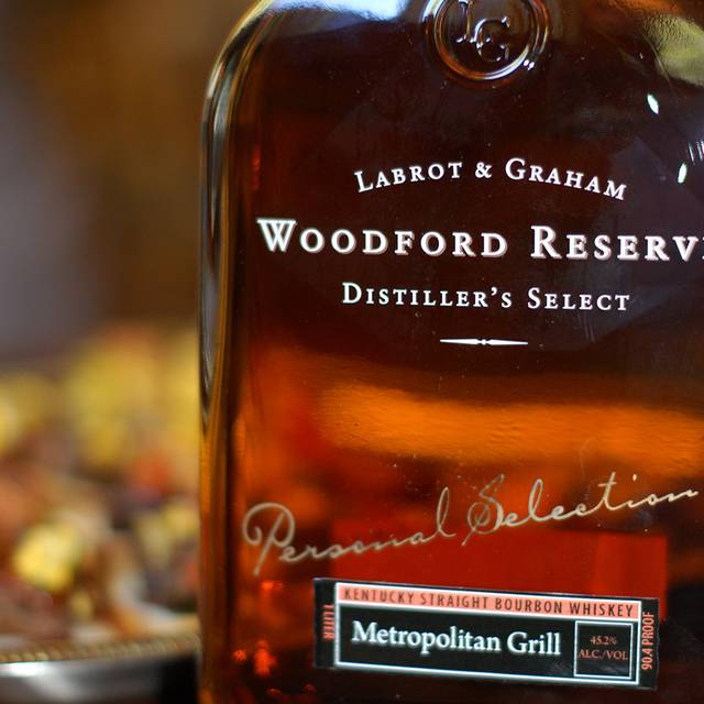 Woodford Reserve - The Metropolitan Grill, Seattle, WA