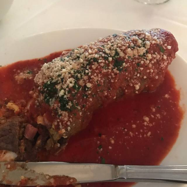 Rizzuto S Restaurant And Chop House Menu