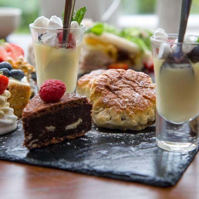 Afternoon Tea at Makeney Hall Hotel, Milford, Derbyshire