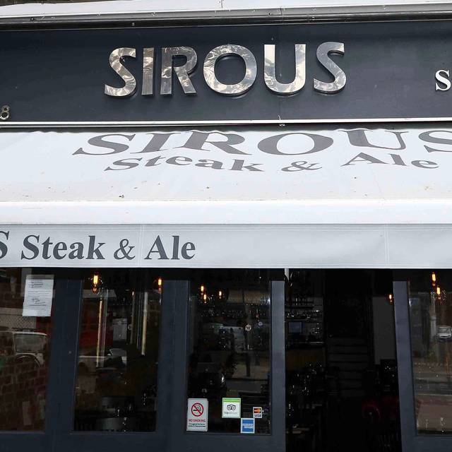 Exterior - Sirous Steak and Ale, London