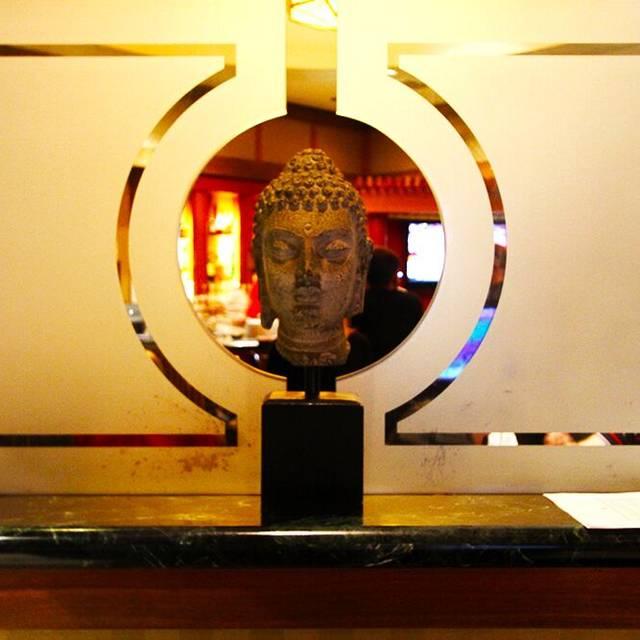 Mikado buddha head - Mikado at Desert Springs JW Marriott, Palm Desert, CA