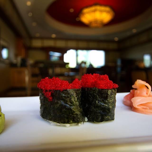 Red Fish Eggs   - Mikado at Desert Springs JW Marriott, Palm Desert, CA