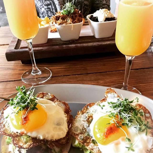 Taco breakfast and mimosas - The Soca Kitchen, Ottawa, ON