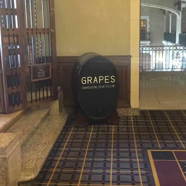 Grapes - Fairmont Banff Springs, Banff, AB