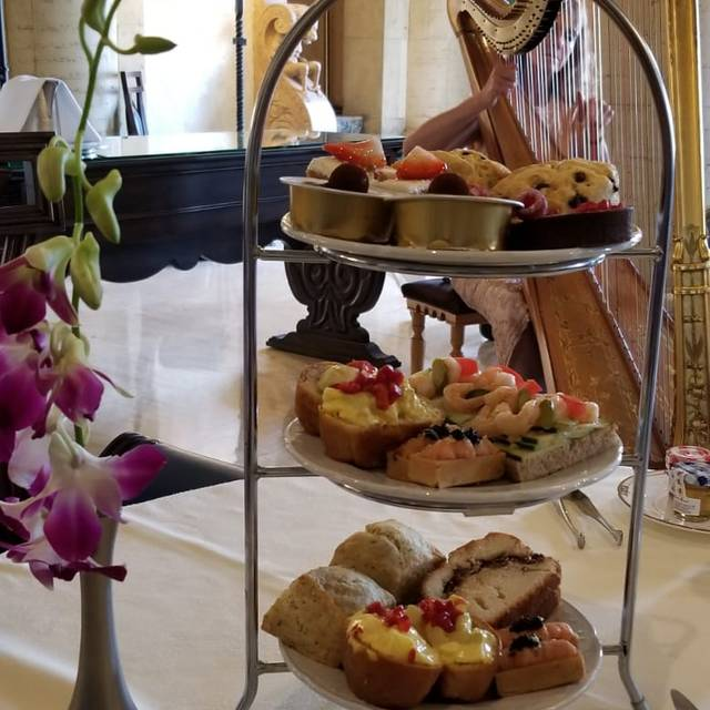 Afternoon Tea at The Biltmore, Coral Gables, FL