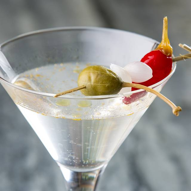 Olive Oil Martini - CHE FiGATA, Naperville, IL