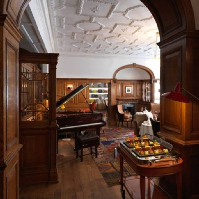 The English Tea Room at Brown's Hotel, London