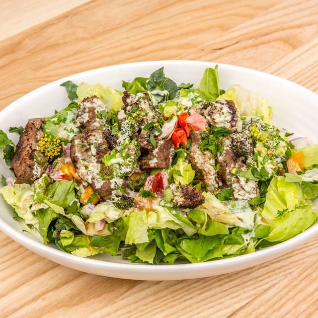 Bison Salad - Rawtopia Living Cuisine and Beyond, Millcreek, UT