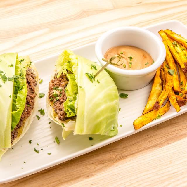 Bison Burger - Rawtopia Living Cuisine and Beyond, Millcreek, UT