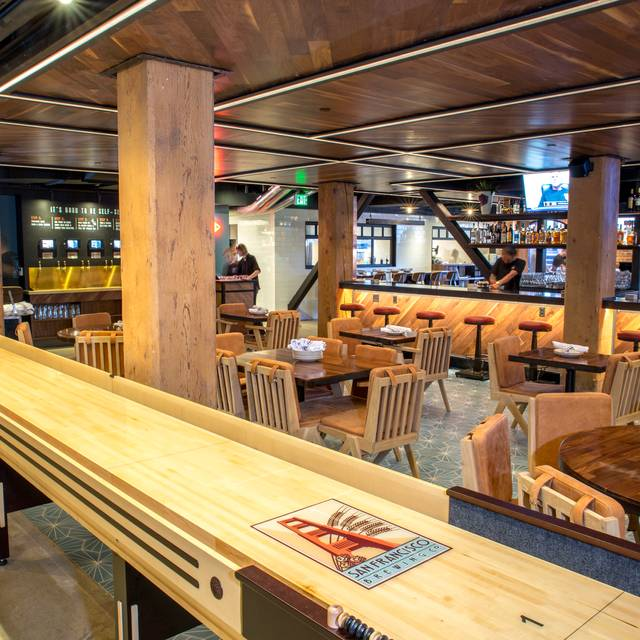 Shuffle Board - San Francisco Brewing Co., San Francisco, CA