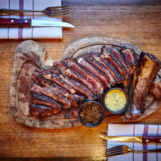 Prime Rib Steak At The Jones Family Project - Photo By River Thompson - The Jones Family Kitchen, London