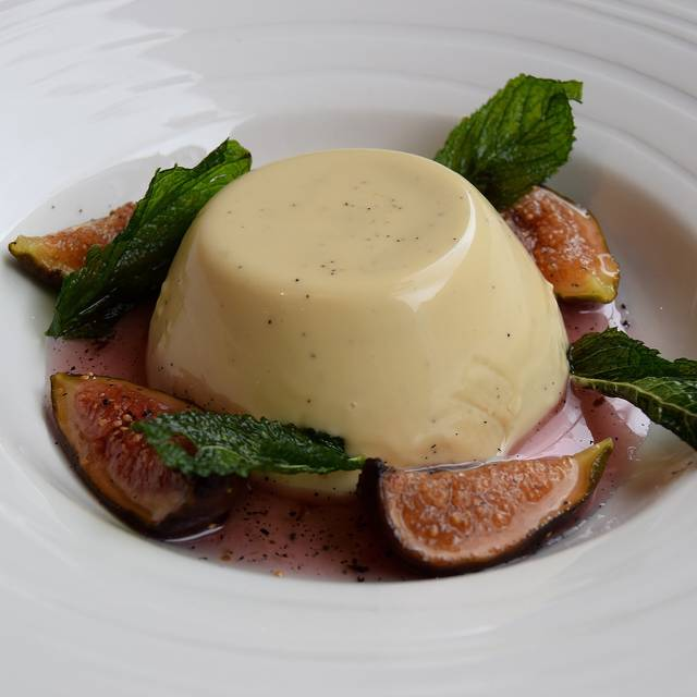 Black Pepper Panna Cotta With Prosecco Figs - Photo By Simon Burrel - The Jones Family Kitchen, London