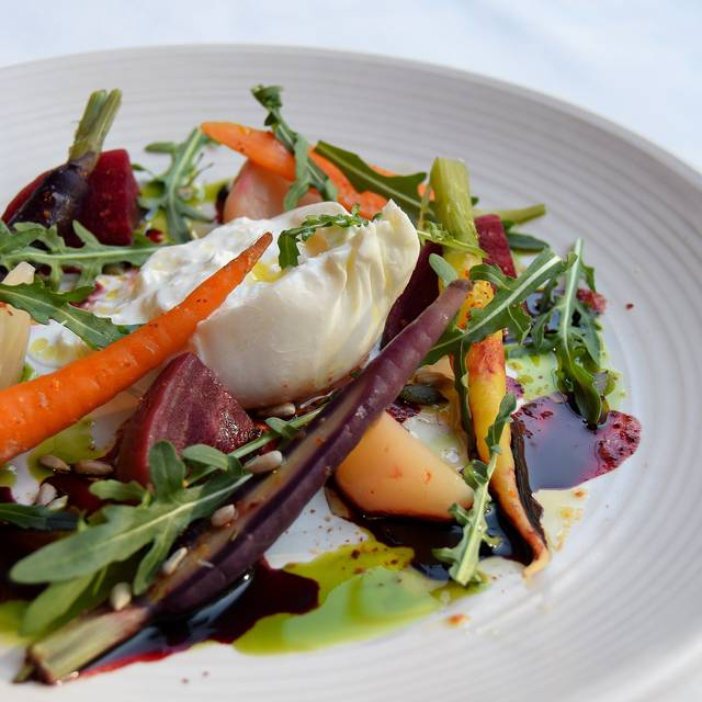 Creamy English Burrata  Starter - Photo By Simon Burrell - The Jones Family Kitchen, London