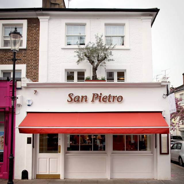 San Pietro Ristorante Italiano, London