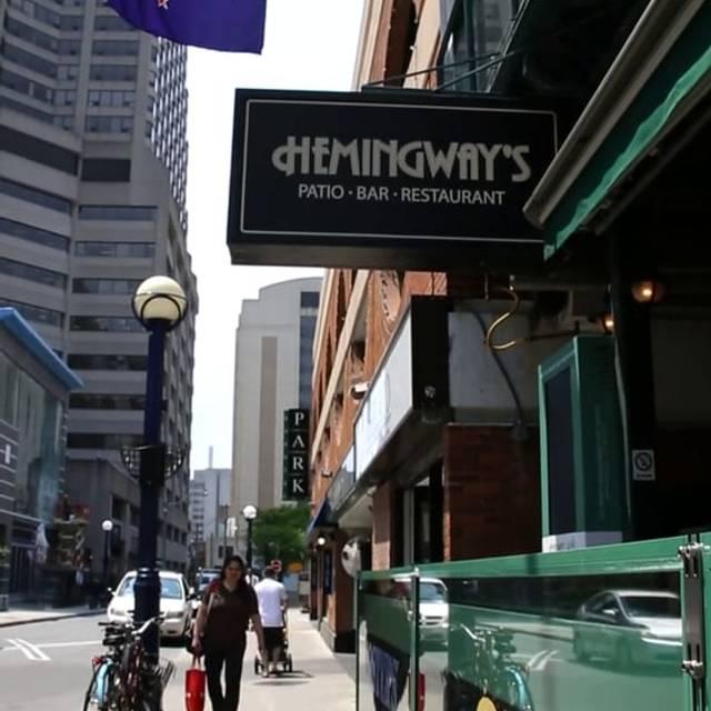 Hemingway's, Toronto, ON