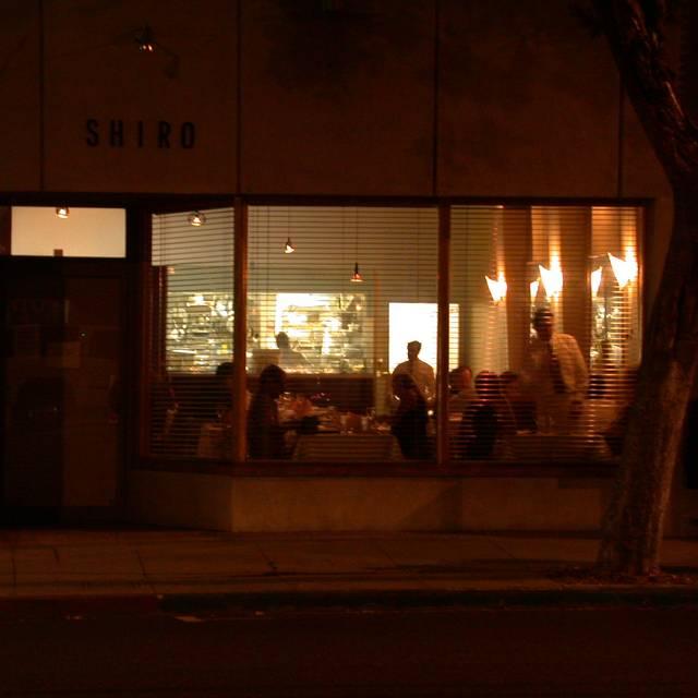 Shiro Restaurant, South Pasadena, CA