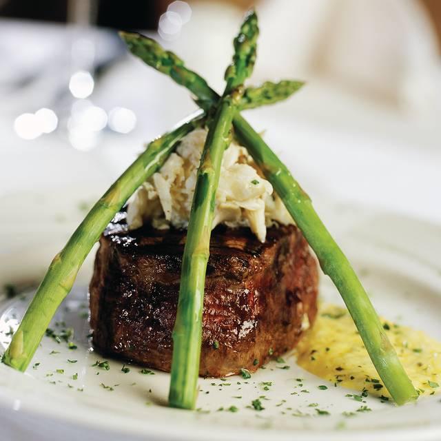 Filet Mignon Oscar Style - Eddie Merlot's Prime Aged Beef & Seafood - Columbus, Columbus, OH