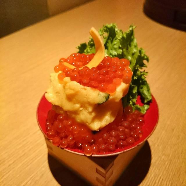 インカの目覚めのポテトサラダ - ぬる燗 佐藤, 港区, 東京都