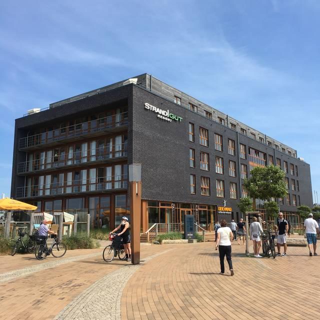 Deichkind Im Strandgut Resort Restaurant St Peter Ording Sh