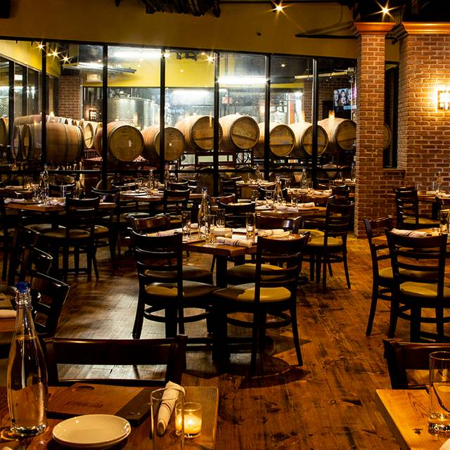 City Winery Dc Barrel Room Restaurant Amp Wine Bar