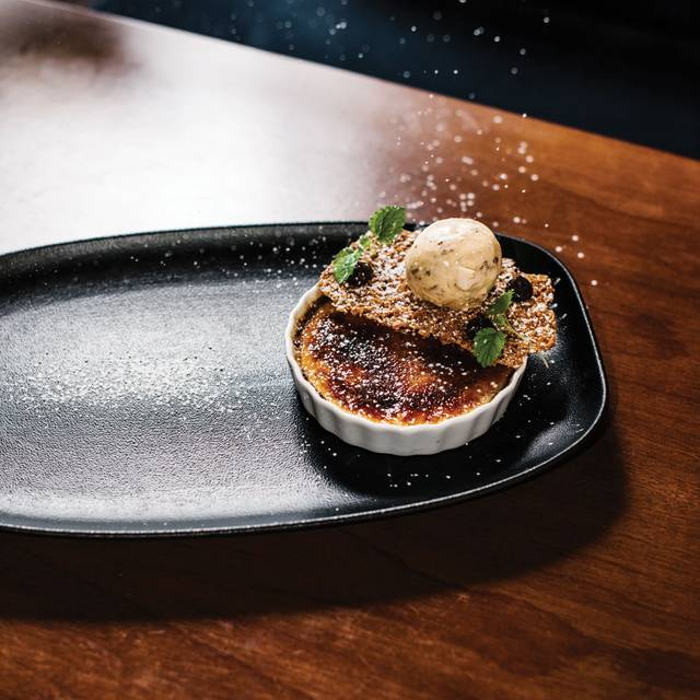 The Wilmot Dessert Vanilla Creme Brulee - The Wilmot at Primus Hotel - Sydney, Sydney, AU-NSW