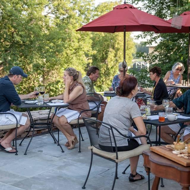 Outdoor Dining - The Kitchen @ Captain Visger House, Alexandria Bay, NY