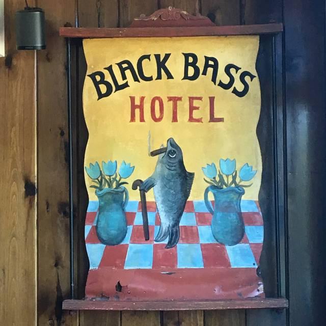 Black Bass Hotel, Lumberville, PA