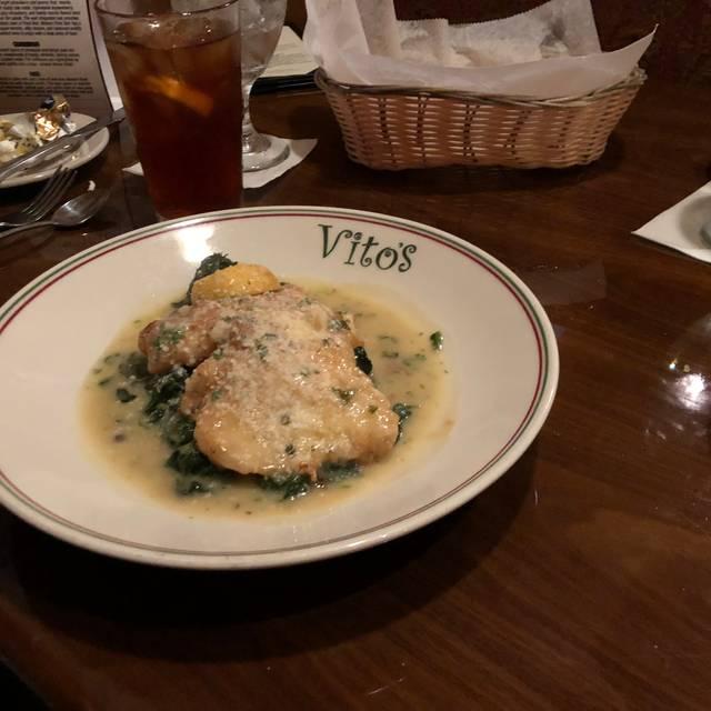 Vito's Italian Restaurant, Saint Johns, FL