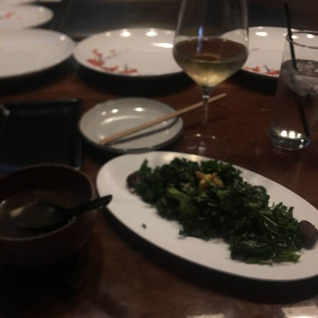 Teppanyaki Tables at ROKU Sunset, West Hollywood, CA