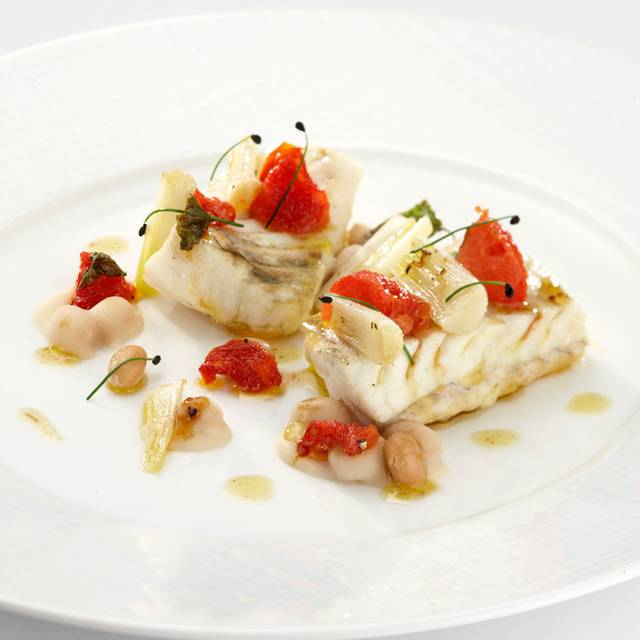 Roasted Turbot With Selection Of Tumeric Spiced Carrots And Almond Sauce - Four Seasons - Hotel Firenze -Il Palagio - Italy