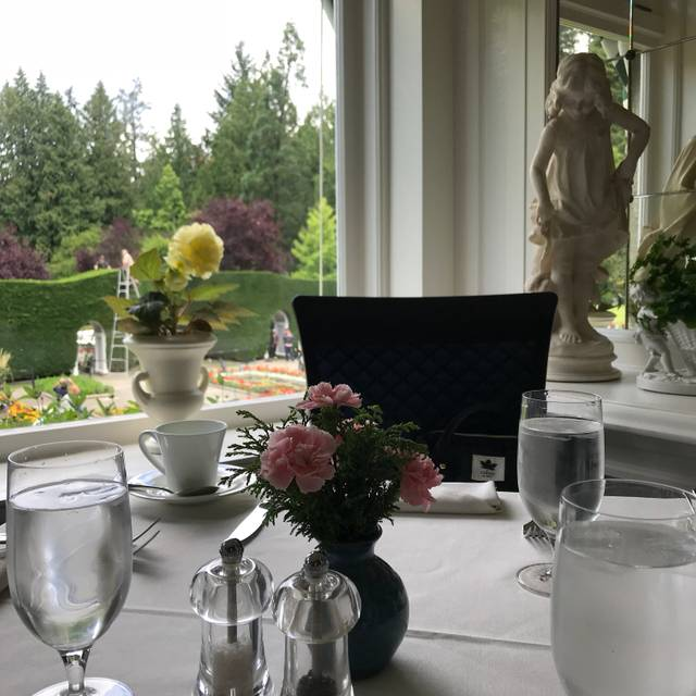 The Butchart Gardens - The Dining Room, Brentwood Bay, BC