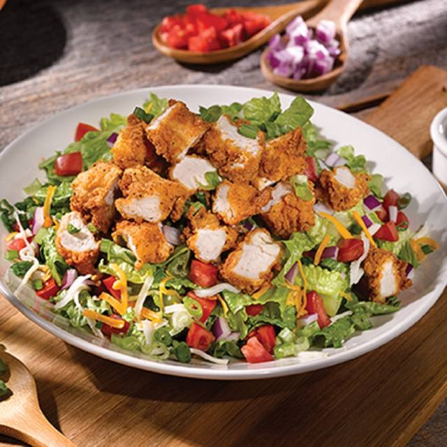 Crispy Chicken Salad - Old Chicago Pizza & Taproom - Boise - Downtown, Boise, ID