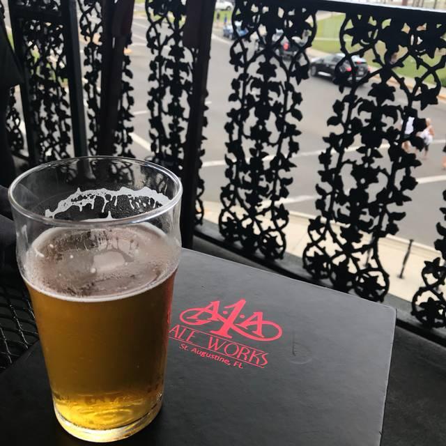 A1A Ale Works, St. Augustine, FL