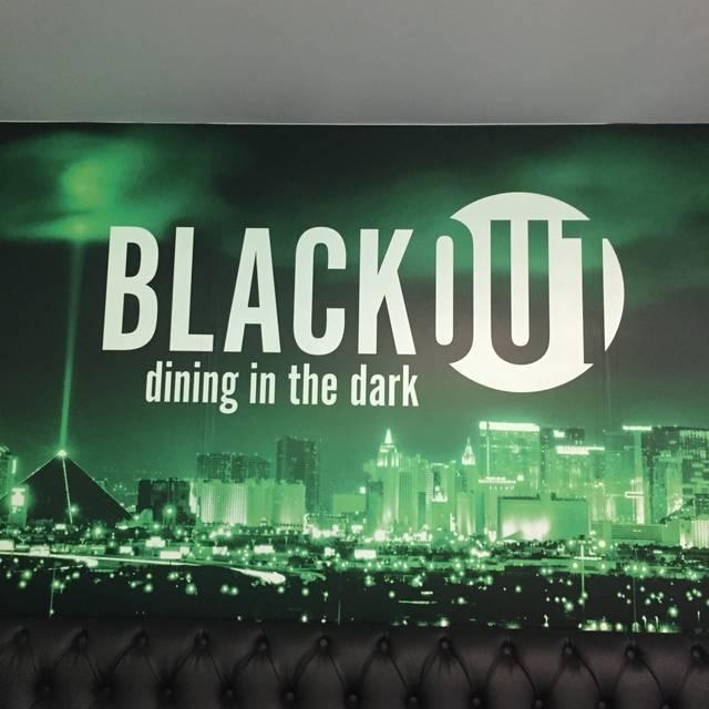 Blackout Dining In The Dark Las Vegas Nv